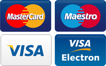 Pay Online With Mastercard, VISA or Debit Card